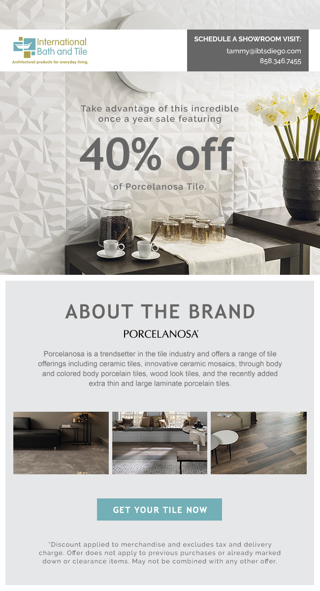 About The Brand Porcelanosa