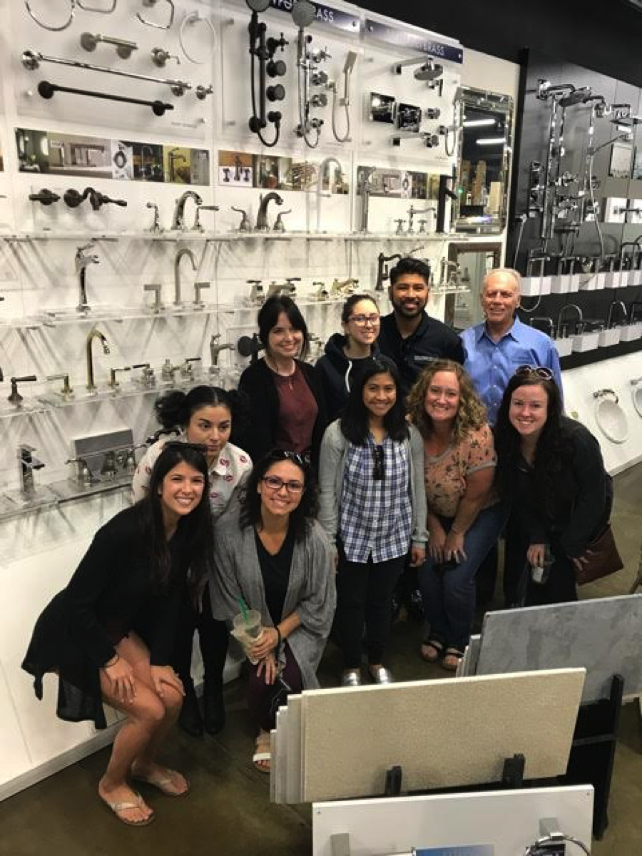 international bath tile welcomes the next generation of designers to explore our showroom international bath tile