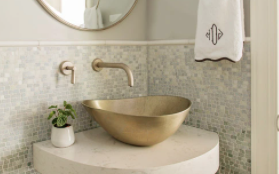 Stone Forest bathroom sink